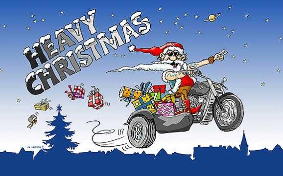 Weihnachtsbilder Motorrad.Frohe Weihnachten Motorrad